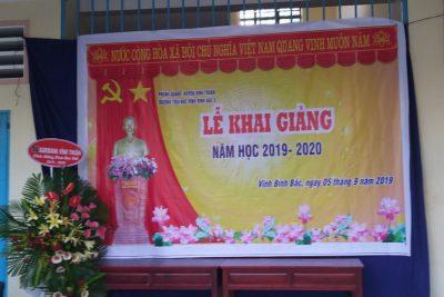 LỄ KHAI GIẢNG NĂM HỌC 2019-2020